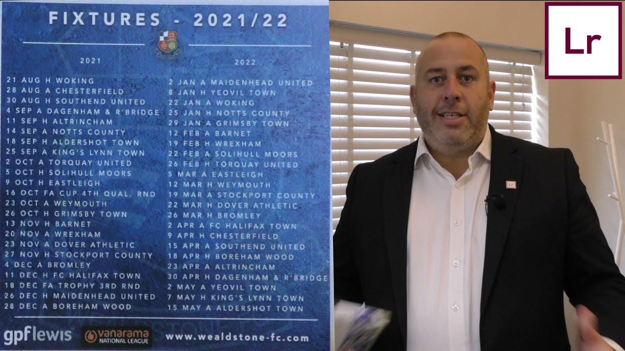 Wealdstone Upcoming Fixtures