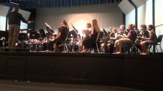 RHS Concert Band and MWSU Symphonic Winds   April 30, 2015 PerformIng Salvation is Created