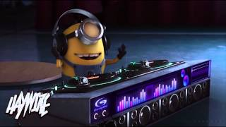 Despicable Me Agnes Vs Minions Dropping The Beat   Haywire Mashup 2013