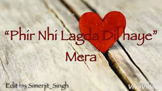 Teri Yaad Parmish Verma Romantic Lyrical What'sapp Status Goldy Desi Crew Sad Punjabi New Song 2018