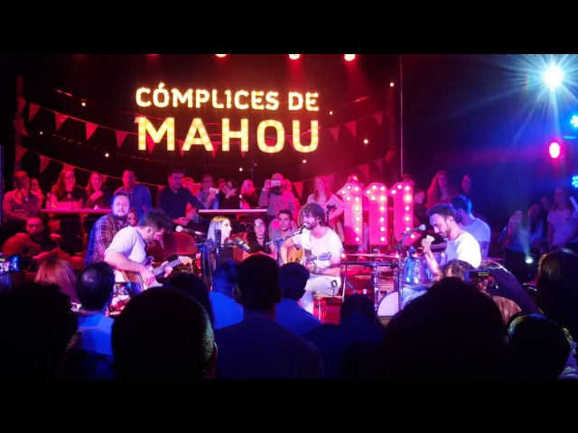 Vídeo de un concierto en Espacio Vías.