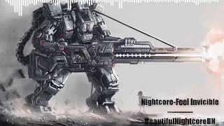 Nightcore - Feel invicible