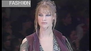 RIFAT OZBEK Fall 1993 Milan - Fashion Channel