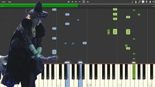 """Wicked Always Wins""  - Once Upon A Time [Piano Tutorial] (Synthesia)"