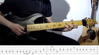 Iron Maiden - Dance of Death - Main Riff Lesson (Adrian Smith)