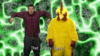 """Flappy Tappy"" A Flappy Bird Music Video (Laffy Taffy Parody)"