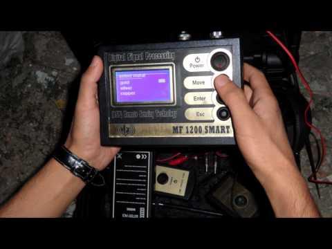 MF1200 Smart Yeni Teknoloji altın ve define dedektörü