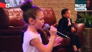 Krisia Todorova singing When You Believe by Whitney Houston (LIVE)