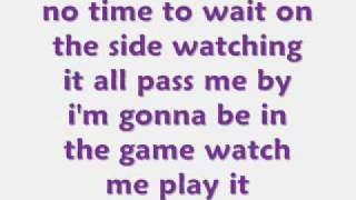 KeKe Palmer-Its my turn now with lyrics!
