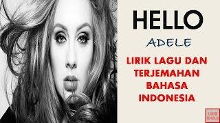 HELLO ~ ADELE (COVER VERSION)   LIRIK DAN TERJEMAHAN BAHASA INDONESIA)