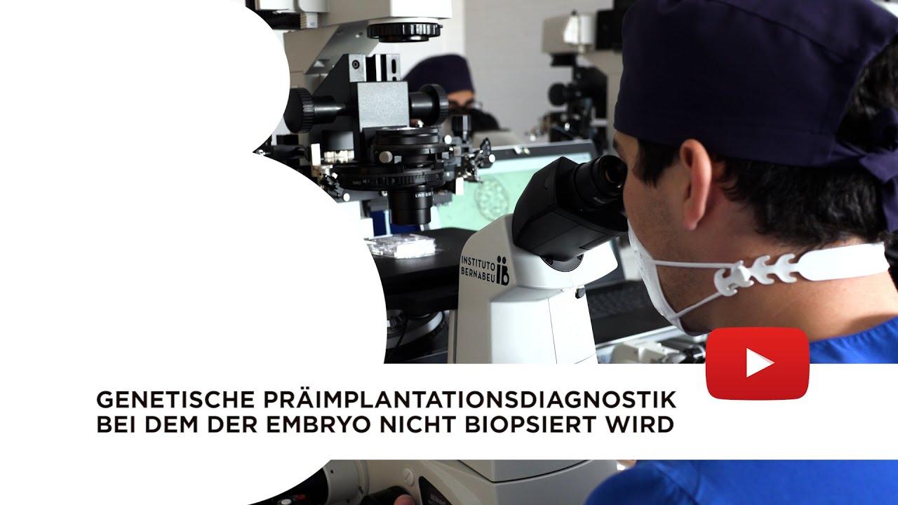 Nicht-invasive PID. Genetische Präimplantationsdiagnostikbei dem der Embryo nicht biopsiert wird