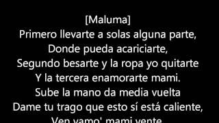 La Temperatura (letra)-Maluma ft Eli Palacios
