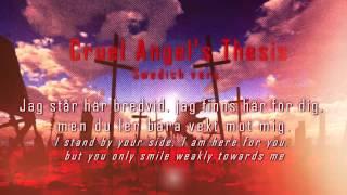 [Rhea Cover] Cruel Angel's Thesis TV-Size (Swedish vers)