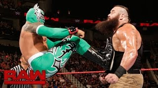 Sin Cara vs. Braun Strowman: Raw, Sept. 5, 2016