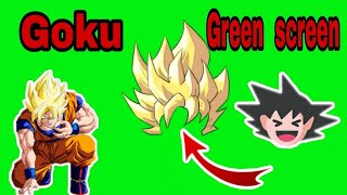 Dragon ball z kai green screen vidéo