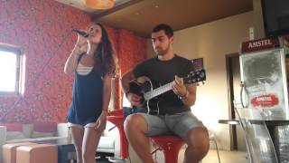 Georgiana & Greg - Fallin Cover