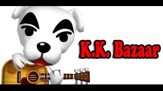 Animal Crossing: New Leaf K.K. Slider Plays 'K.K. Bazaar'