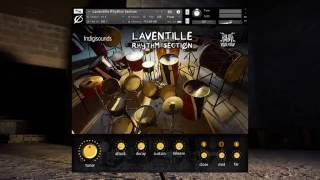 Indigisounds and Jus Now Presents Laventille Rhythm Section for Kontakt 5
