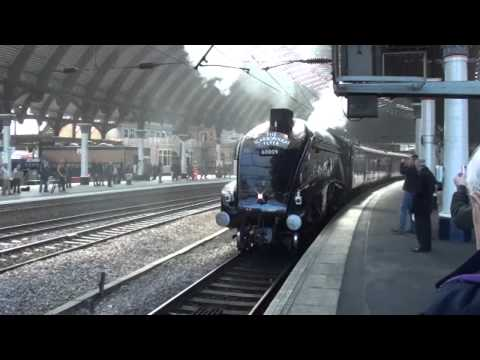 Steam train Union of South Africa at York Station Sept 12