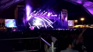 Andrés campos global Music fiestas del pilar 2014