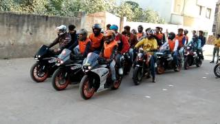 KTM gwalior Riders Orcha Ride