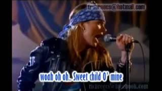 Sweet Child O' Mine - Guns N Roses Karaoke (without vocal)