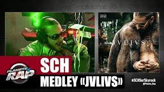 """SCH - Medley de l'album """"JVLIVS"""" #PlanèteRap"""