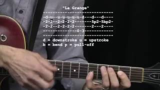 """La Grange"" by ZZ Top : 365 Riffs For Beginning Guitar !!"