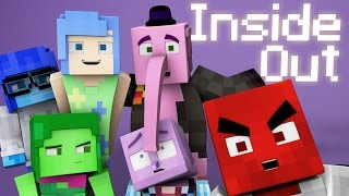 Minecraft Parody - INSIDE OUT! - (Minecraft Animation)