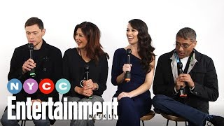 The Expanse's Shohreh Aghdashloo, Frankie Adams & More On Show | #NYCC19 | Entertainment Weekly