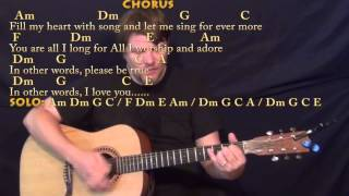 Fly Me to the Moon - Strum Guitar Cover Lesson with Chords/Lyrics