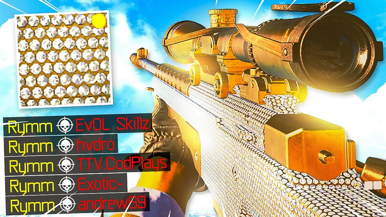 SoaR Rymm - I Unlocked DIAMOND SNIPERS & they're absolutely AMAZING.. (Black Ops Cold War)