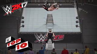 WWE 2K17: Mejores momentos en combates de escaleras