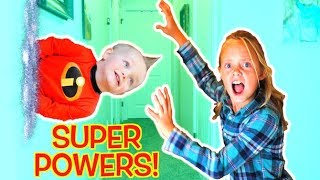Jack Jack Super Powers! Incredibles 2 skit