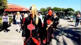 Naruto Dance Call Me Maybe Sac Anime Summer 2012