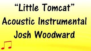LITTLE TOMCAT Acoustic Instrumental  Music Video 🎵 JOSH WOODWARD (Lyrics below) 🎵