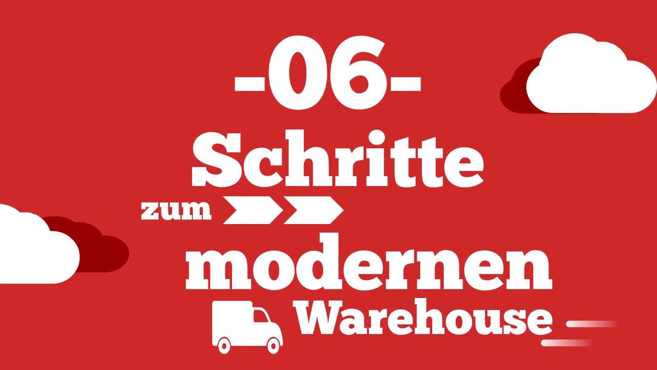 In sechs Schritten zum modernen Warehouse | COSYS Supplychain Management