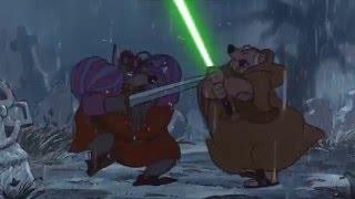 Disney's Robin Hood~ Friar Tuck With Lightsaber