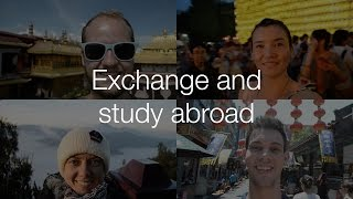 Exchange and study abroad