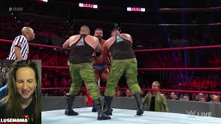 WWE Raw 11/19/18 AOP vs Glorious Gable