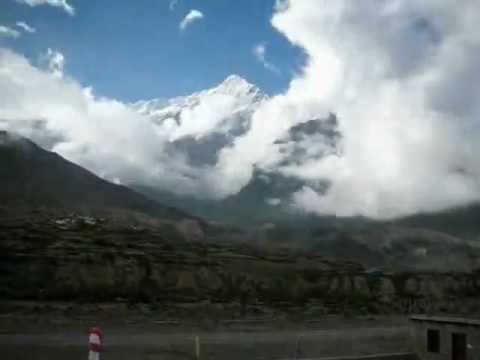 10 Worlds Most Dangerous Airports  Jomsom airport  time lapse   nepal