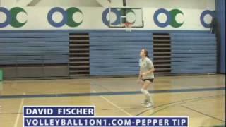 Volleyball Pepper Technique