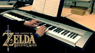 "Legend of Zelda: Breath of the Wild - ""Switch Trailer"" [Epic Piano Cover] 