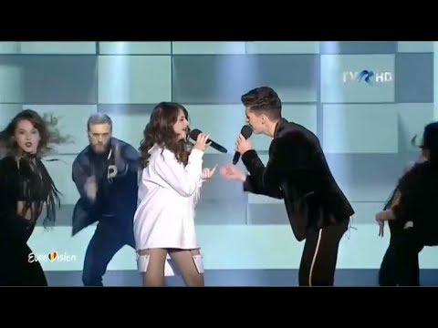 Alexia & Matei - Walking on water | Eurovision România 2018