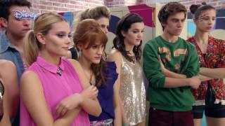 "Soy Luna – ""Valiente"" (Luna și Simon show pe patine cu rotile). Doar la Disney Channel!"