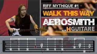 Apprendre Walk This Way D'Aerosmith à la guitare
