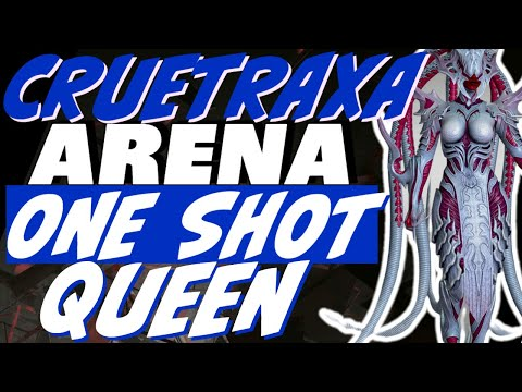 Cruetraxa arena one shot queen Raid Shadow Legends Cruetraxa guide