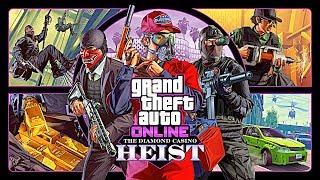 GTA Online: DIAMOND CASINO HEIST DLC Prep Stream (GTA CASINO HEIST DLC UPDATE)