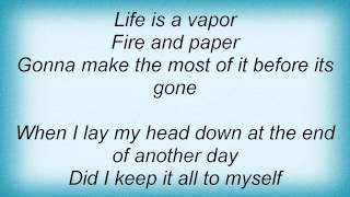 Little Big Town - Vapor Lyrics