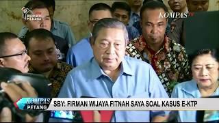 SBY Laporkan Firman Wijaya ke Bareskrim Polri